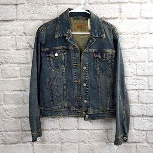 Levi's Women's Blue Jean Jacket  Size Large